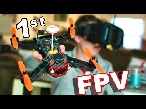 First FPV Flight Using FPV Goggles and the Eachine 250 Race Drone - TheRcSaylors