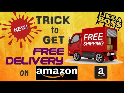 How to get FREE Delivery on Amazon [NEW] 2017!!!