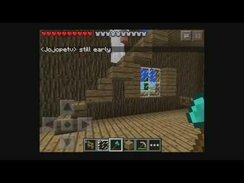 MCPE 0.7.5 Realms Gameplay Livestream (Part 2)