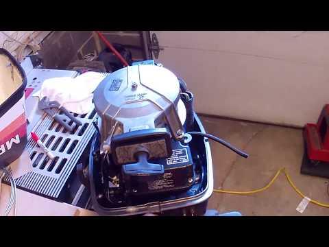 mariner 8 hp carburetor cleaning