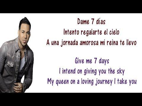 Romeo Santos - 7 Días Lyrics English and Spanish - Translation ...Romeo Santos - 7 Días Lyrics English and Spanish - Translation & Meaning -  Tunewids - Download Hd Videos