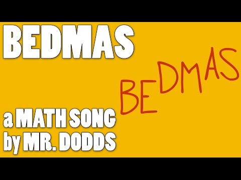 Colin Dodds - BEDMAS (Order of Operations Math Song)