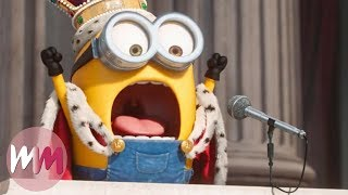 Top 10 Funniest Minions Moments