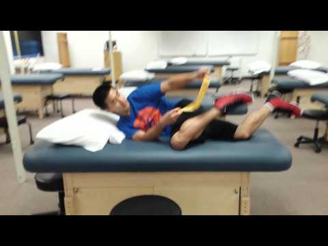 Osgood Schlatter Disease Stretching and Strengthening exercises