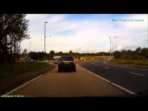 how not to enter a roundabout