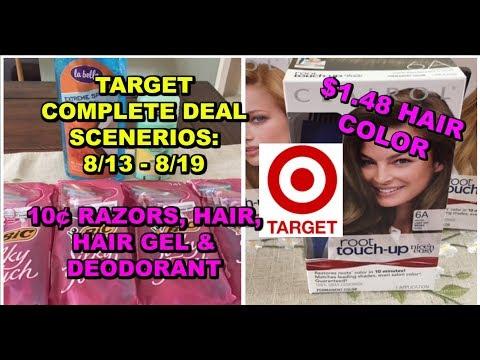 Target Gift Card Scenerios 8/13 - 8/19:  10¢ Razors, Mitchum Deodorant & more!