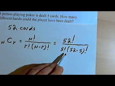 Permutations and Combinations - word problems 128-1.11