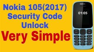 how to unlock nokia 1280 security code/reset security/unlock