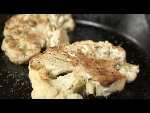 Cauliflower Steak | Katie Quinn