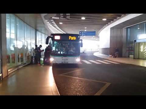 Les bus et cars à aéroport Charles de Gaulle terminal 1