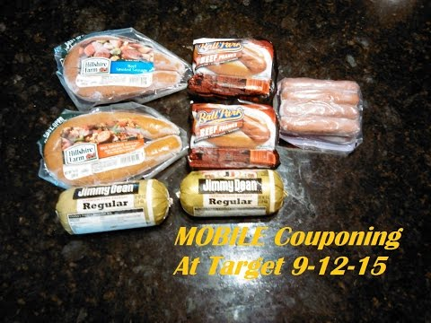 MOBILE Couponing at Target! 9-12-15