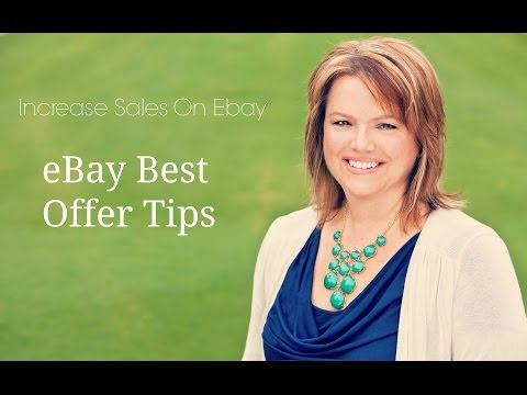 Increase eBay Sales and Make More Money with Best Offer