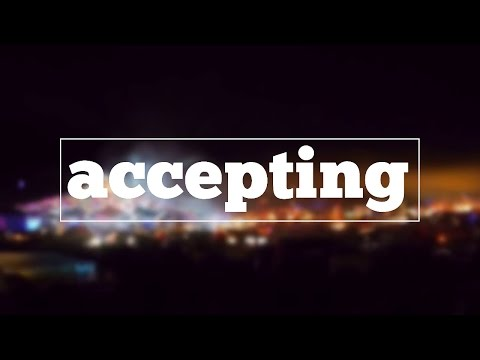 How do you spell accepting?