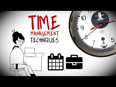 Time Management Techniques For Stress Free Productivity
