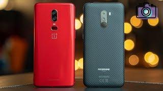 Xiaomi Pocophone F1 vs OnePlus 6 Camera Comparison!