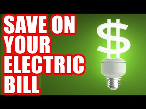 How to Lower Electric Bill - Save on Your Electricity Bill Up to 40% Monthly