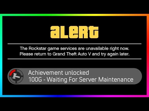 GTA Online Mysterious Server Maintenance NEW Details - OFFLINE Time, Patch Fixes & MORE! (GTA 5)