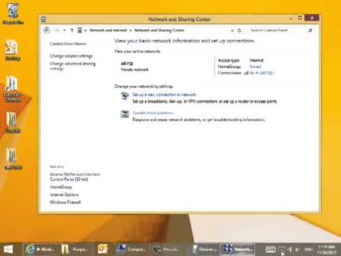 Windows 8.1 How to Connect to a Hidden Wireless Network