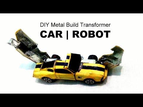 Mustang GT Transformer DIY at Home | DIY Transformer robot car