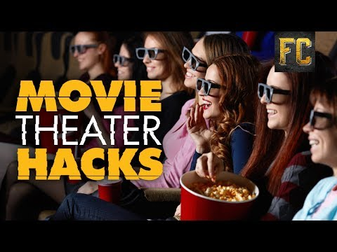 Secret Movie Theater Hacks 🍿 Skip Lines, Perfect Buttered Popcorn + More! | Flick Connection