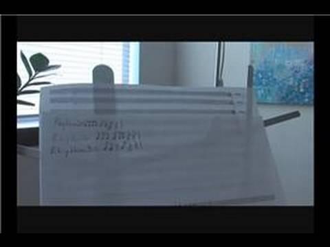 Violin Rhythm Exercises : Violin Rhythm Exercise 1