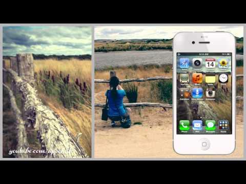 iPhone 4S - Free iOS Wallpapers Retina Display [Download Link in Description]
