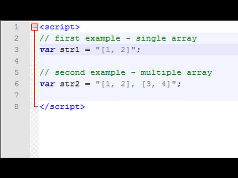 javascript : convert string array to array