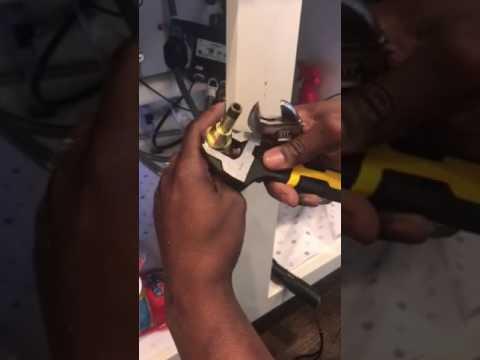 Moen motion sending faucet low hot water pressure - fix