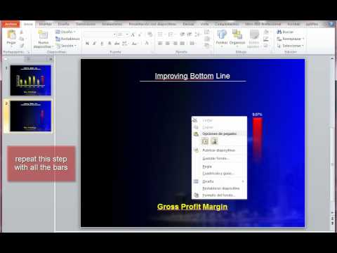 Animating a bar chart using powerpoint 2010