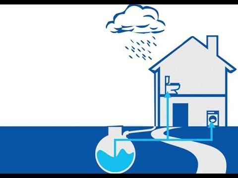Rain water Harvesting System Filter Functioning