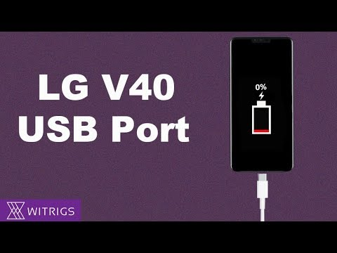 LG V40 USB Port Replacement