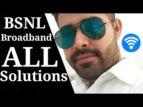 BSNL Broadband Problem and Solution | how to | 8 Mbps | 10 Mbps | 2018 speed trick | happy browsing