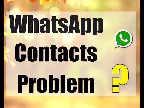 WhatsApp Not Showing My Contact Name Whatsapp Tricks in One Minute By Web Master