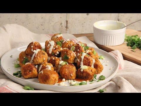 Buffalo Chicken Meatballs   Episode 1228