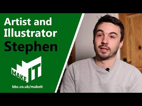 ARTIST & ILLUSTRATOR   Make It Into: Creative Arts