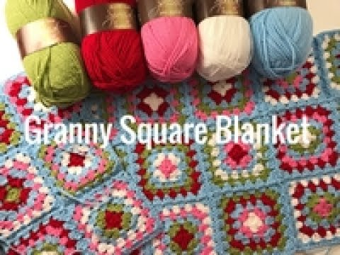 Ophelia Talks about Making a Granny Square Blanket
