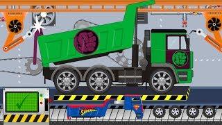 Truck HULK Super Truck | Toy Factory | Video for Kids | Ciężarówka Hulk do zadań specjalnych
