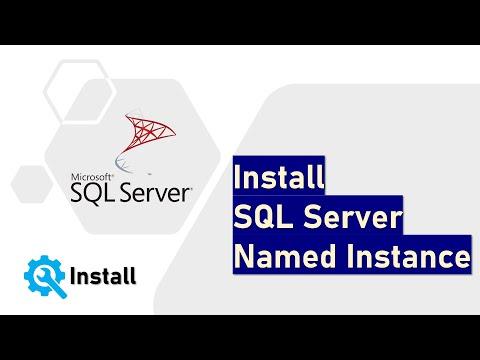 Install SQL Server Named Instance