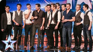 The Kingdom Tenors want to raise the roof   Britain's Got Talent 2015