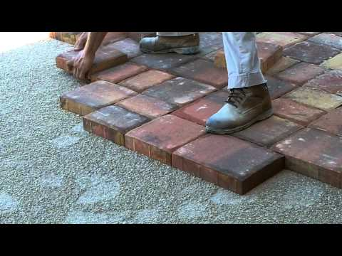 Installing Pavers on a Driveway
