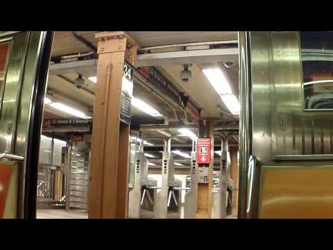 Bronx Bound Number 1 Train at Penn Station