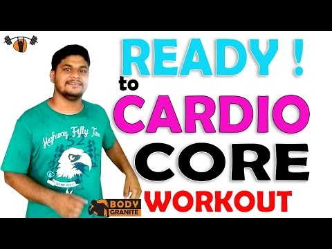Ready to Fat Burning Cardio Workout - Cardio and Core Workout - Best Cardio Core Workout