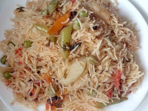 veg pulao recipe in telugu