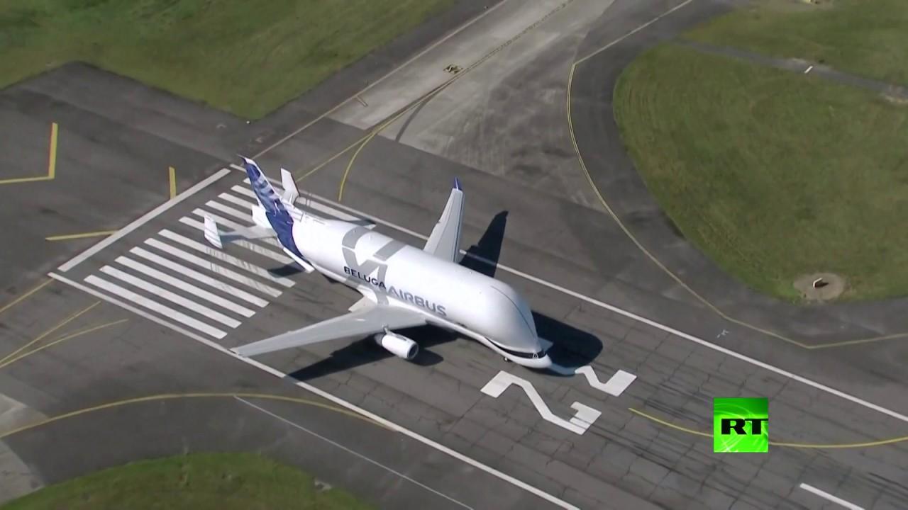 الطائرة الحوت تدخل الخدمة