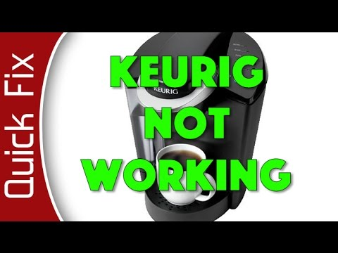 Keurig Quick Fix - Dripping out Super Slow