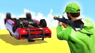 RPGs vs. ARMOURED CARS! (GTA 5 Funny Moments)