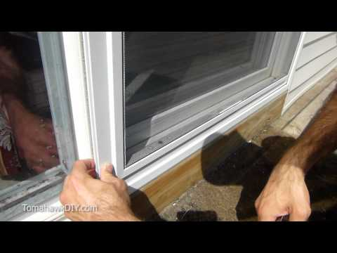 Easy Way to Fix Screen Door That Won't Slide