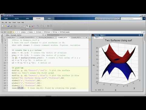 MV3D Appendix C.3 - 3D graphs in MATLAB