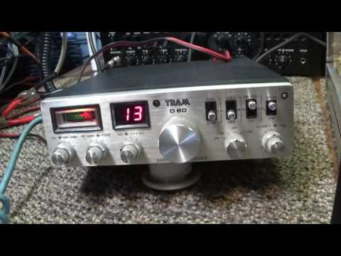 Golden Eagle 200  (2) 20LF6 tube twin turbo driver linear amplifier Tram D80 mobile CB radio