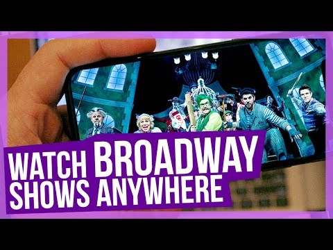 How to watch Broadway shows AT HOME! | BroadwayHD